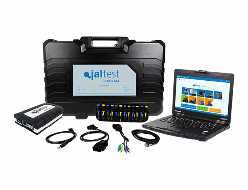 Check the electrical signals in towed vehicle and vehicle with Jaltest PTE